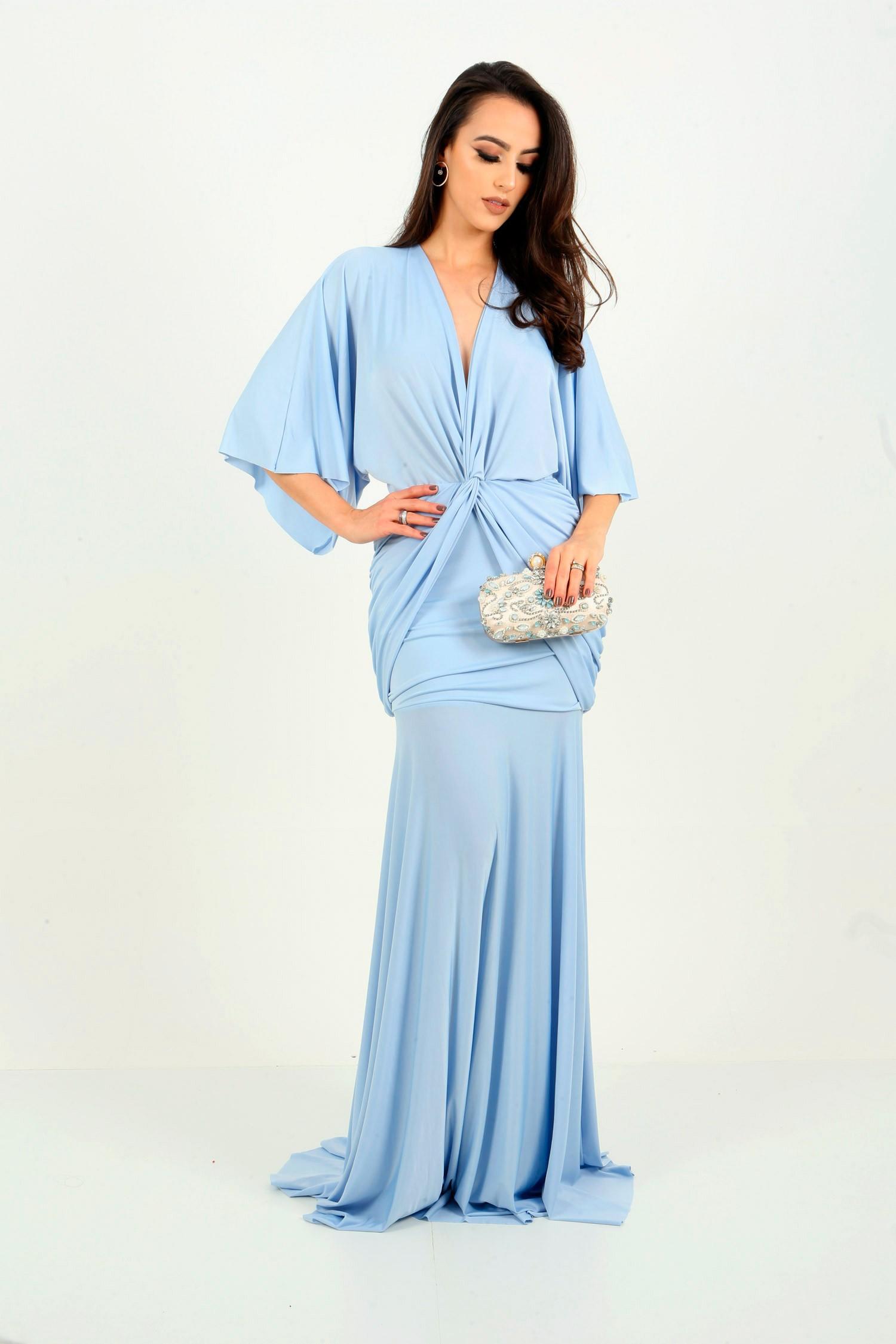 Aluguel Vestido Pietra - Azul Serenity