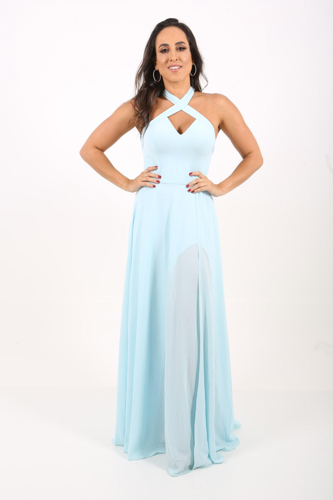 Aluguel Elizabeth Marques - Azul Candy