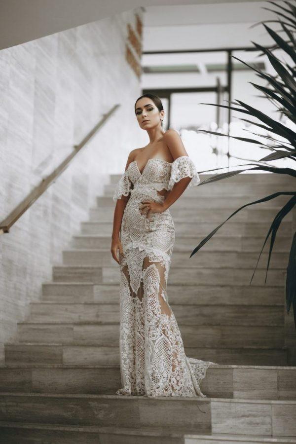 Vestido Patchwork  I Do Concept off-white