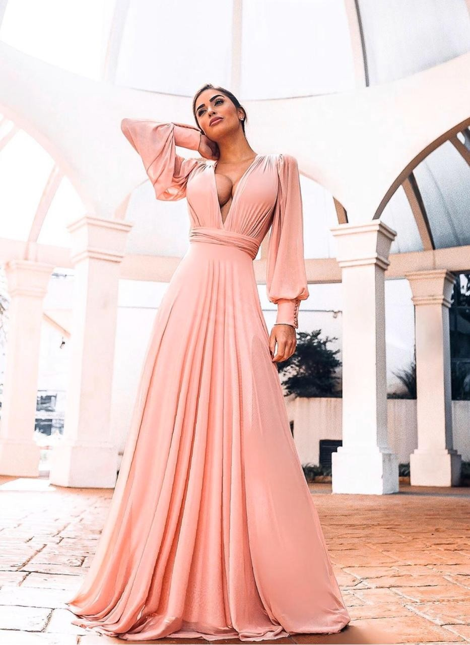 Vestido Grace - Rosa