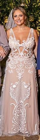 Olivia Aragão - Vestido em Renda