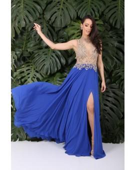 Aluguel Elizabeth Marques - Azul Royal