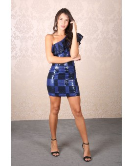 Aluguel M&Guia - Black&Blue Paetês