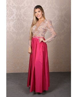 Aluguel Alfreda - Pink Bordado