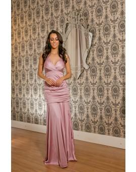 Vestido Madri Rosa