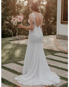 Allure Bridals - Decote Costas