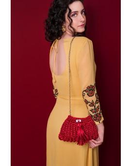 Bolsa Amarílis Vermelha