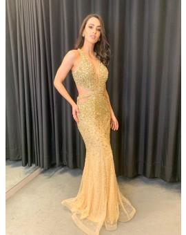 Vestido Kelly Gold