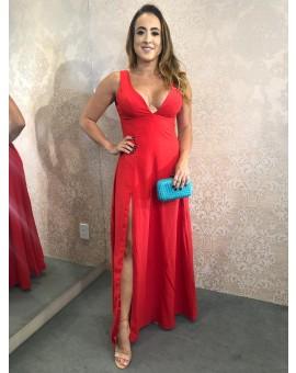 Aluguel Vestido Vermelho