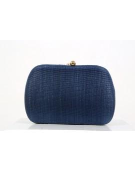 Clutch Palha Azul