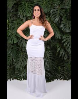 Vestido Laise Branco