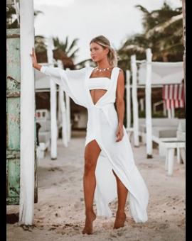Vestido Tugore Top - Branco