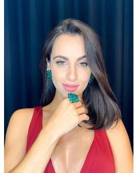 Conjunto Cravo Esmeralda