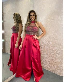 Vestido Princesa - Rosa Pink Frutacor