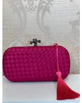 Clutch - Veneta Pink