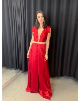 Vestido Princesa - Vermelho Elizabeth Marques