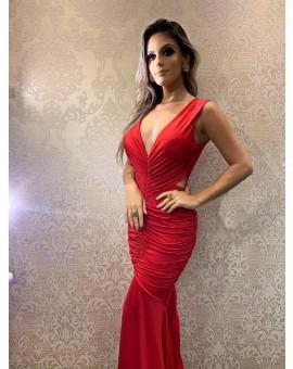 Aluguel Vestido Justine - Vermelho