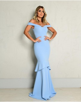 Vestido Nova York Azul Serenity