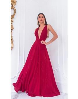 Vestido Sandra - Marsala