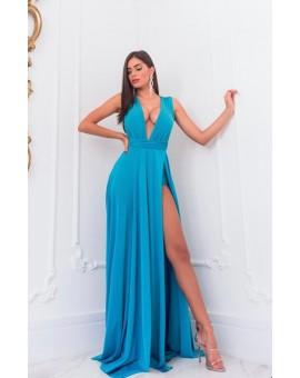 Vestido Safira - Azul