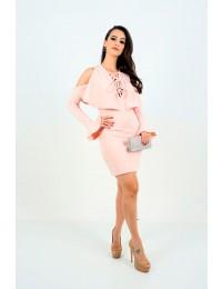Aluguel - Vestido S Trend Rosa Quartzo