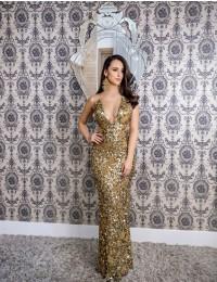 Aluguel Patricia Bonaldi - Gold Decote