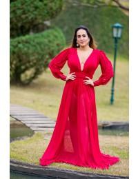 Vestido Grace - Marsala