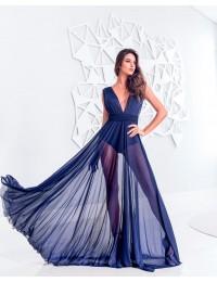 Vestido Grace - Azul Marinho