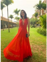 Vestido Grace - Coral
