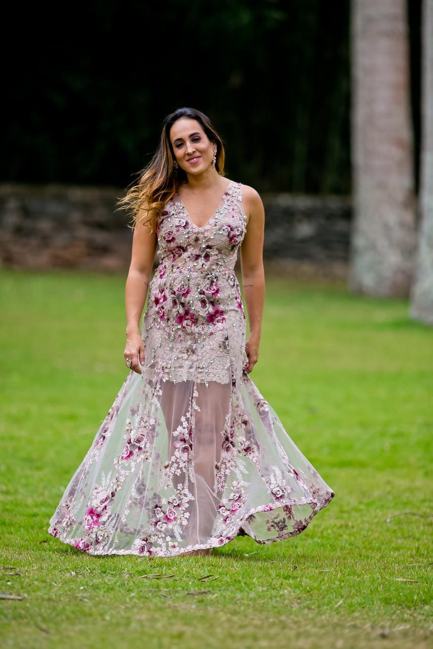 Aluguel Patricia Bonaldi Flores Vestidos Aluguel De