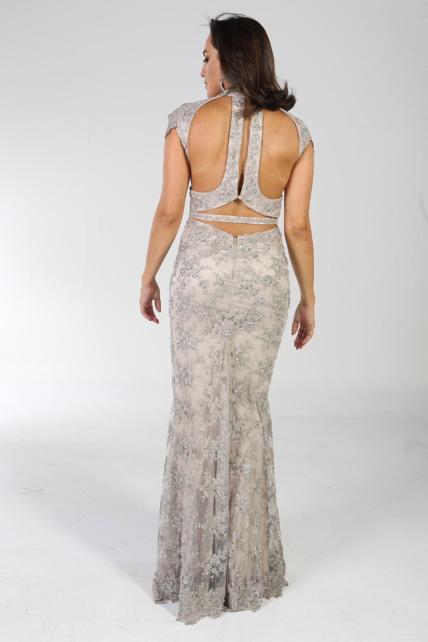 207a06783 Aluguel Fabulous Agilita - Silver - Aluguel de Vestidos